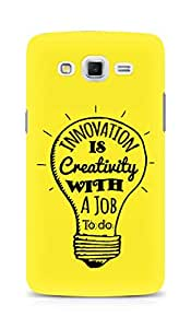 AMEZ Innovation is Creativity with a Job to do Back Cover For Samsung Galaxy Grand Max