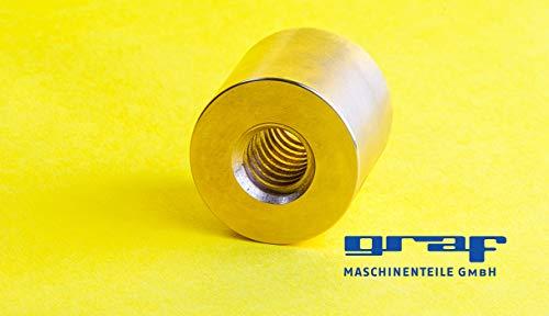 2 DC Hohlstecker mit Knickschutz 2,1 x 5,5 mm Steckkontaktlänge 9 mm