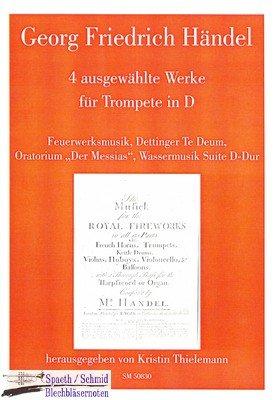 HÄNDEL/Thielemann Georg Friedrich 4 ausgewählte Werke für Trompete in D