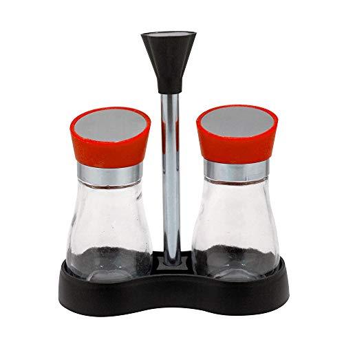 abm-idea hx915137 sel et poivre en verre, transparent