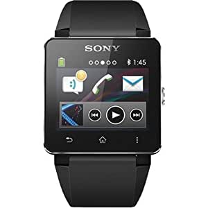 Sony SW2 Digital Dial Unisex Watch (Black)