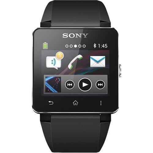Sony-SW2-Digital-Dial-Unisex-Watch-Black