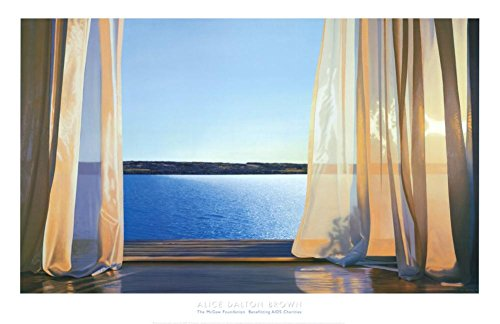 (26 x 40), Alice Dalton Brown Poster/Kunstdruck Golden Tag