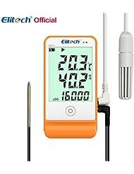 Elitech STC-1000gsp-6registrador de datos de temperatura y humedad
