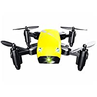 Cewaal S9 Mini Folding Pocket Quadcopter Drone, Pressure Set High/3D Tumbling/A Key Return, Drone with Headless Mode for Beginners from Cewaal