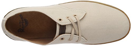 Dr. Martens Cruise Delray Sand O. Twill CA, Brogues Mixte Adulte Beige (Sand)