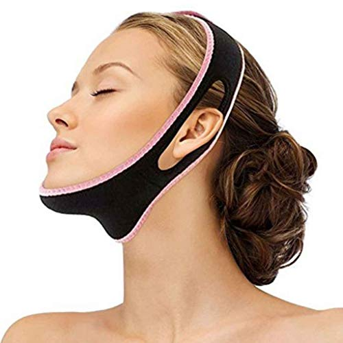 Face V Shaper Facial Slimming Bandage Entspannung Lift Up Belt Shape Lift Reduzieren Sie Double Chin Face Mask Face Thining (Nacht Creme Japan)