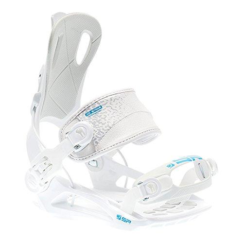 SP United Snowboardbindung  FT270, Weiß, M, 25532 (Snowboard-ausrüstung)