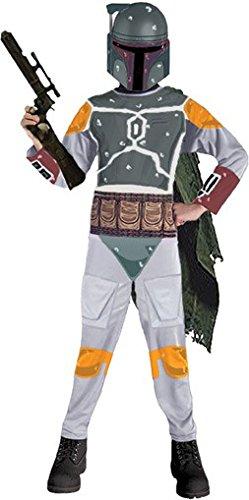 Boba Fett Kinder Kostüm Star Wars 116-152, (Für Boba Kinder Fett Kostüme)
