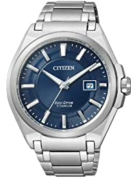 Citizen Herren-Armbanduhr Analog Quarz Titan BM6930-57M