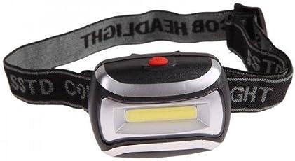 Kairos COB Headlight 3Watt Zoom Headlamp Camping Night Outdoor LED High Power Torch (Color May Vary)