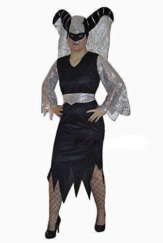 Karneval-Klamotten Horror Kostüm Damen Königin der Nacht Damenkostüm Größe - Königin Der Nacht Kostüm