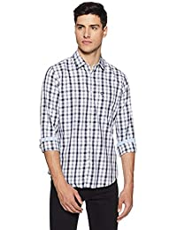 Van Heusen Sport Men's Checkered Slim Fit Casual Shirt