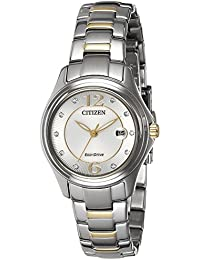 Citizen Analog Silver Dial Women's Watch-FE1134-54A