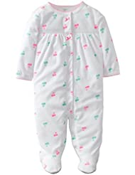Carter's Terry Footie - White-9 Months Color: White Size: 9 Months (Baby/Babe/Infant - Little ones)