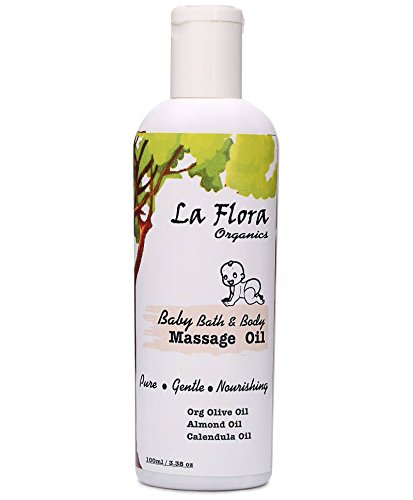 La Flora Organics Baby -Bath & Body Massage Oil-100ml