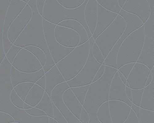 Life 2 Tapete - Material: in grau, glitzer (Nr. 7630-1628)