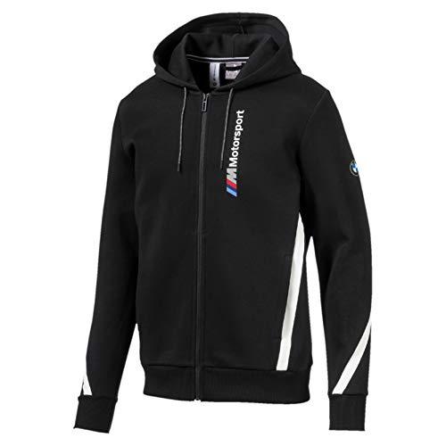 PUMA BMW M Motorsport Herren Kapuzen-Sweatjacke Puma Black XL