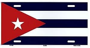 LP - 509 Cuba Flag plaque d'immatriculation - 5158