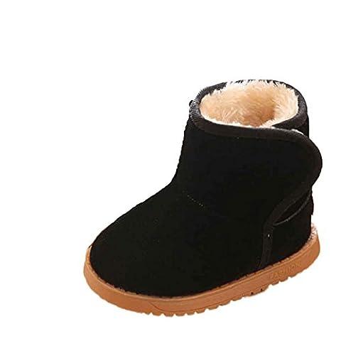 Chaussures Bébé Clode® Bébé Garçon Fille bowknot Chaussures Toddler neige Bottes d