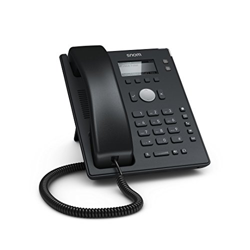 Snom D120 VoIP/SIP Desk Telephone - Black