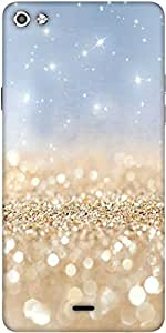 Snoogg Sands Or Crystals Designer Protective Back Case Cover For Micromax Canvas Silver 5 Q450