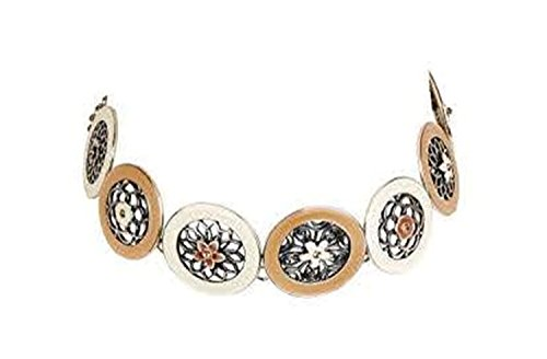 hypoallergenic-surgical-steel-rhodium-plated-different-open-flowers-beige-brown-colored-rounded-chok