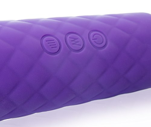 Deluxe Mini Magic Wand Massager Kraftprotz, Silikon Massagegerät mit Akkubetrieb, wasserdicht - 8