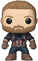 Funko- Bobble Marvel Avengers Infinity War Pop 4 Personaggio, 9 cm, 26466