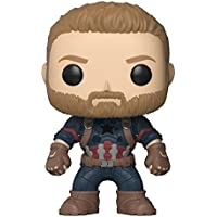 Funko POP! Marvel: Avengers Infinity War Captain America Bobblehea