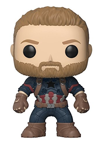 Foto FunKo Bobble Marvel Avengers Infinity War POP 4 Personaggio, 9 cm, 26466