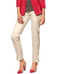 PaTRIZIA dINI jean pour femme, design jean stretch/jeans/beige clair bonne pointure 46
