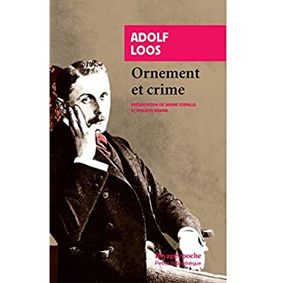 Ornement et crime et autres textes
