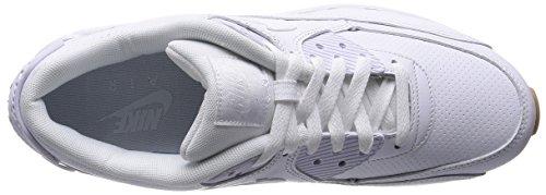 PA 90 Leather Sneaker White Max 111 Air Nike Weiß Herren wRtBqURWX