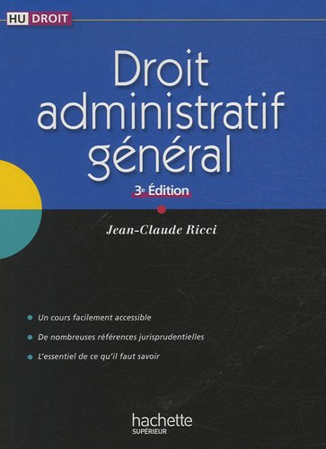 Droit administratif général par Jean-Claude Ricci