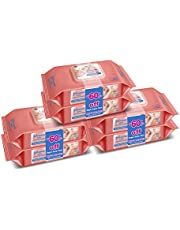 Johnson's Baby Wipes 80s (Pack of 6s)
