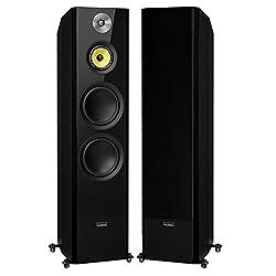 Fluance Signature Series Hi-Fi Three-Way Floorstanding Tower Speakers with Dual 8 Woofers (HFF)