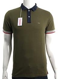 Sun68 - T-shirt - Homme vert vert