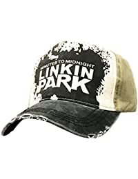 065a8f534e8 Linkin Park Smooth WASH Cap Men s Mesh Plain Snapback Baseball Cap for  Hunting