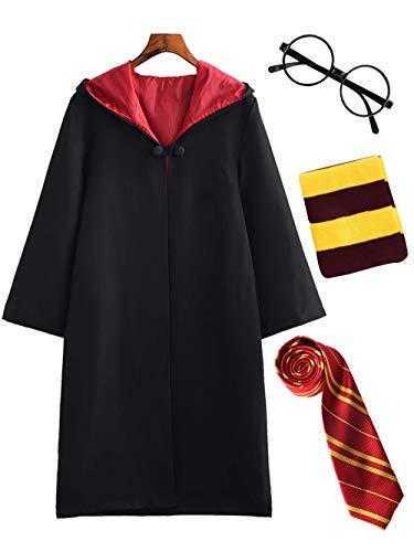 DJSJ- Niños Cosplay Disfraz Capa Vestido graduación