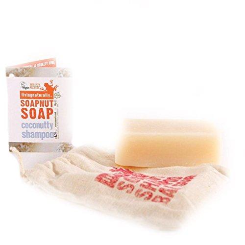 Living Naturally Soapnut Coconutty Shampoo Bar 90g
