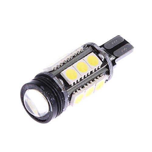Starnearby T15 W16 W Auto Voiture inversée ampoule LED W2.1 x 9.5d 15smd 5050 COB LED 921