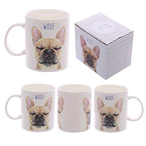 Tazza mug Colazione in ceramica con Design Bulldog Francese