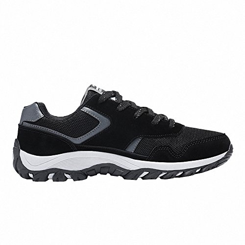 Ben Sports Chaussures de running sur route homme Chaussures de sport homme Baskets mode homme Noir
