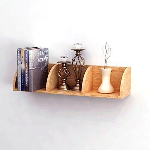 Xiaolin scaffale a parete ad angolo in legno massello nordico soggiorno parete attrezzata a parete scaffale decorativo creativo lattice di alta qualità in legno massello di due misure