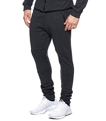 MonsieurMode -  Pantaloni sportivi  - Uomo Grigio