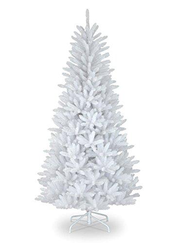 Künstlicher Weihnachtsbaum Tannenbaum inklusive Christbaumständer Weihnachtsdekoration künstliche Tanne Wunschfarbe (180, Weiß)