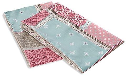 Dreams & Drapes Shantar Kissenbezüge, Blau, Pink, Pair of Additional Pillowcases (Ge Quilt Designs)