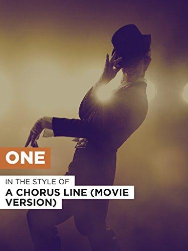 """One im Stil von \""""A Chorus Line (Movie Version)\"""""""