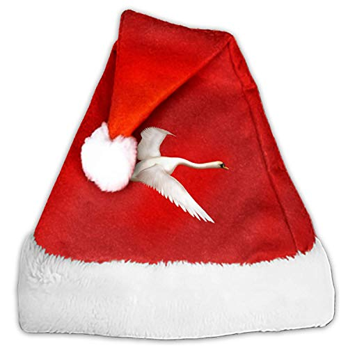 Christmas Hat Swan Hat for Adults and Child Red Velvet Comfort Liner Christmas Comfort Liner